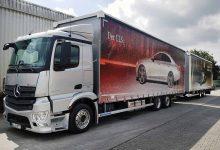 Elflein Spedition au dezvoltat un nou concept de camion extra-lung