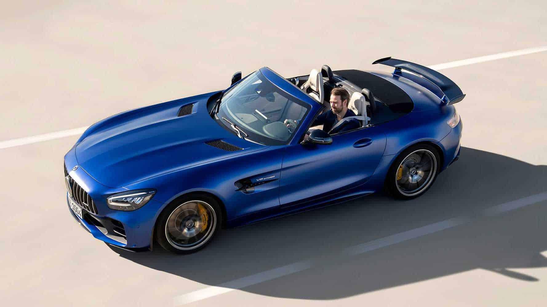 Mercedes-AMG GT R Roadster are 585 CP și va fi produs în doar 750 de unități