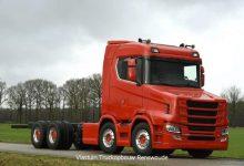 Scania S580 T, cel de-al 12-lea proiect special al olandezilor de la Vlastuin