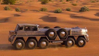 Un Oshkosh 10×10 a fost transformat în SUV