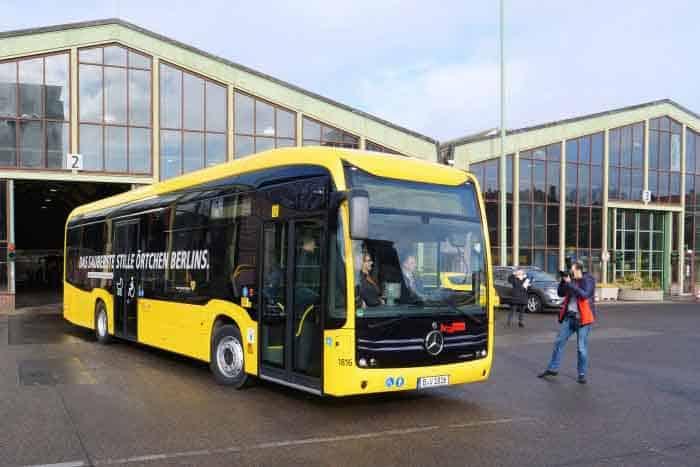 A fost livrat primul eCitaro din cele 15 unități către BVG din Berlin