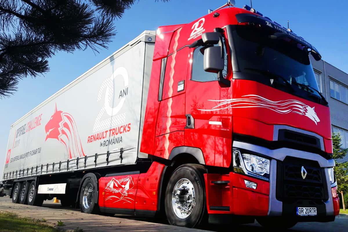Și tu poți fi ECO-șoferul anului! Renault Trucks a dat startul competiției Optifuel Challenge 2019