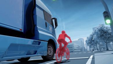 Din 2028, sistemul de asistență la virare devine obligatoriu pe camioane