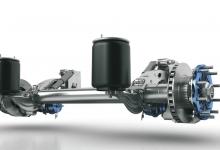 BPW prezintă la Bauma 2019 o variantă revizuită a axei cu suspensie pneumatică ECO Air