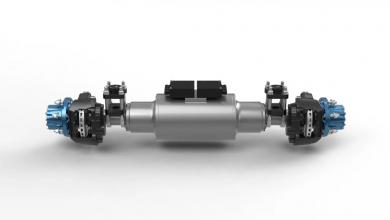 BPW utilizează tehnologia bateriei BMW i pe o axă electrică dezvoltată pentru camioanele