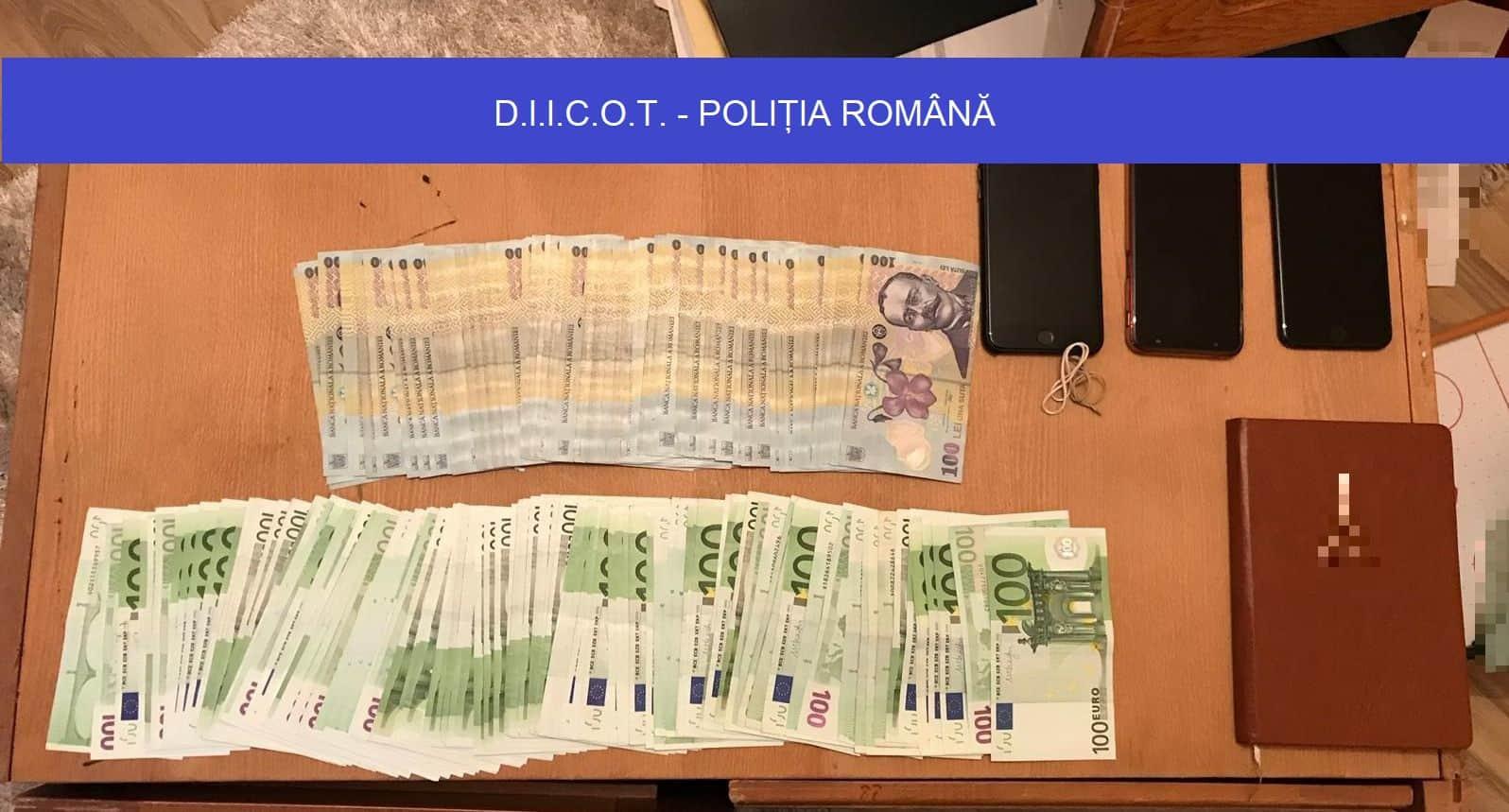 Percheziiții DIICOT într-un dosar de fraudă informatică pe bursele de transport
