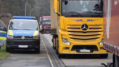 Control de anvergură în parcările de camioane din zona Hamburg
