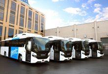 4 autobuze Scania Interlink LD cu gaz fac acum parte din flota unei școli din Genk