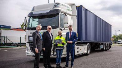 Rhenus Logistics din Germania a cumpărat două exemplare electrice DAF CF