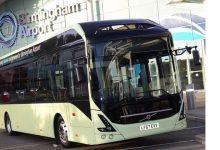 Aeroportul din Birmingham a semnat un contract pentru șase autobuze electrice Volvo