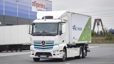 Rigterink Logistikgruppe a început testarea Mercedes-Benz eActros în regiunea Rhine-Main