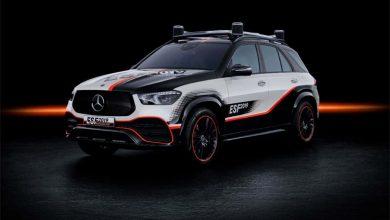 Mercedes-Benz a introdus tehnologii de siguranță noi pe un prototip GLE plug-in hybrid