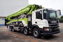 Scania livrează 520 de autoșasiuri producătorului chinez de echipamente de beton Zoomlion