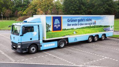 Aldi Süd a tras primele concluzii după testarea camioanelor alimentate cu gaz și a celor electrice