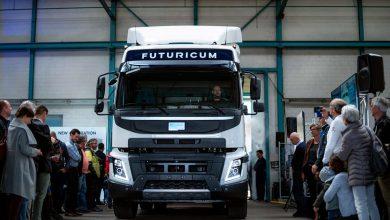 Designwerk a prezentat noul camion electric de mare tonaj Futuricum Semi 40E