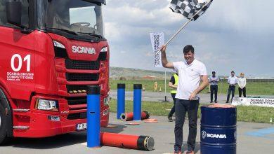 "Eugen Grigore alias ""Tataie"" a câștigat finala Scania Driver Competitions din România"