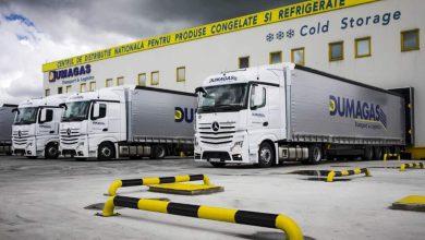 Mercedes-Benz a livrat 20 de camioane Actros 1843 LSnRL către Dumagas Transport