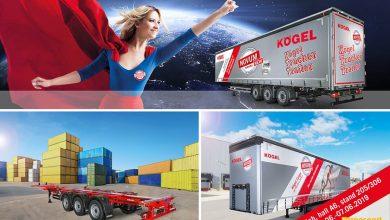 Kögel va prezinta la Transport Logistic 2019 noua generație de semiremorci NOVUM