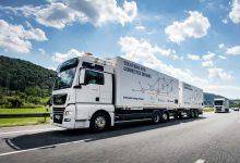 DB Schenker și MAN au încheiat testele de drum camioane conectate în pluton