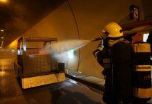Austria a pus la punct un simulatorul pentru exercițiile de stingere a incendiilor în tunelurile rutiere
