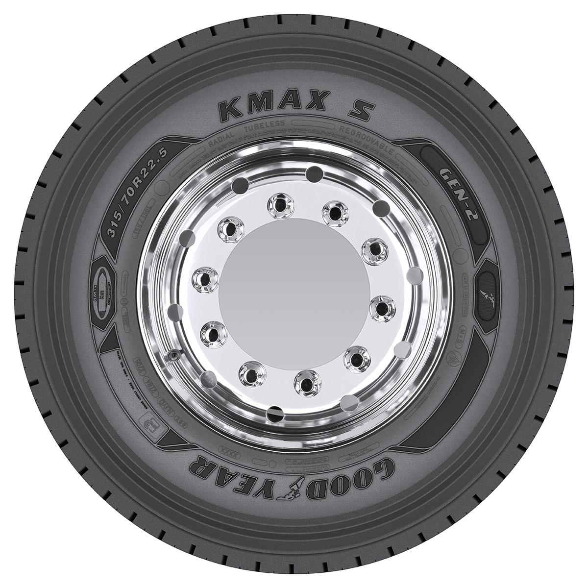Goodyear a lansat noile generații de anvelope pentru camion KMax GEN-2 și Fuelmax GEN-2