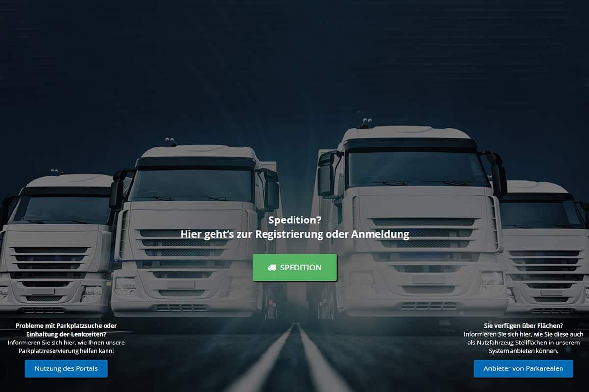 """Platforma online """"park-your-truck"""" te ajută să-ți rezervi un loc de parcare în Germania"""