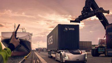 Camionul autonom Vera a început prima sa misiune de transport în portul Göteborg (VIDEO)
