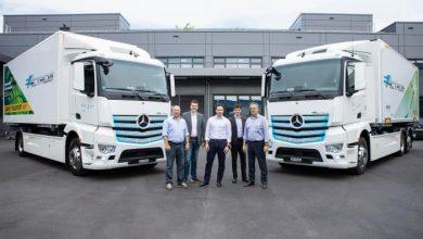 Camionul 100% electric Mercedes-Benz eActros va fi testat de două firme din Elveția