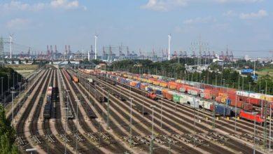 Creștere a traficului de containere din Portul Hamburg în prima parte a anului