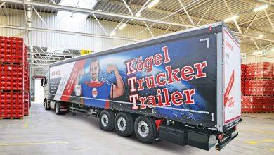 Kögel Trucker Trailer prezentată în cadrul transport logistic 2019