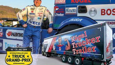 Kögel Trucker Trailer (KTT) va fi expus în cadrul Truck Grand Prix 2019