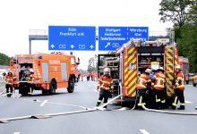 Șoferul unui camion înmatriculat în România a provocat un accident grav pe A3 în Germania