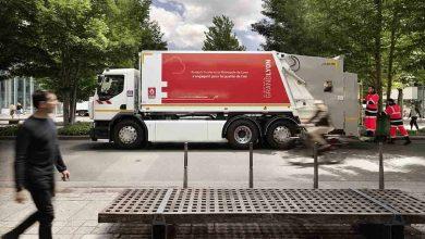 Gunoiul menajer din Lyon va fi colectat cu noua generație Renault Trucks D Wide Z.E.