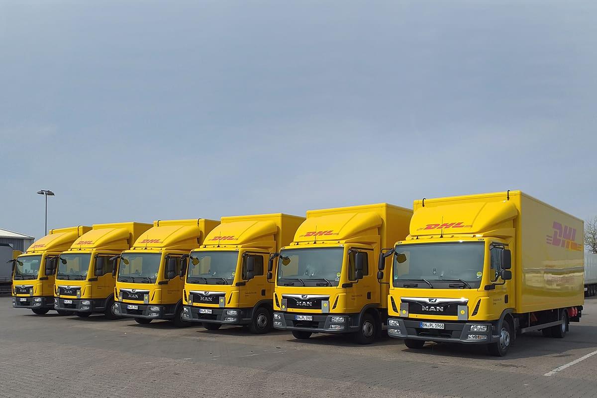 DHL Freight și-a extins flota cu 30 de camioane noi, ca parte a unui unui proiect de recrutare al șoferilor