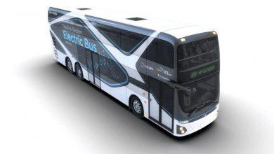 Hyundai a prezentat primul său autocar supraetajat complet electric