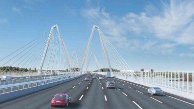 Lucrări prelungite la noul pod peste Rin de pe autostrada A1 din Germania
