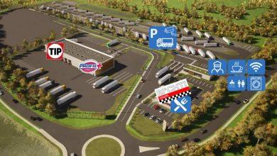 TIP a deschis primul centru rutier cu parcare securizată pentru camioane