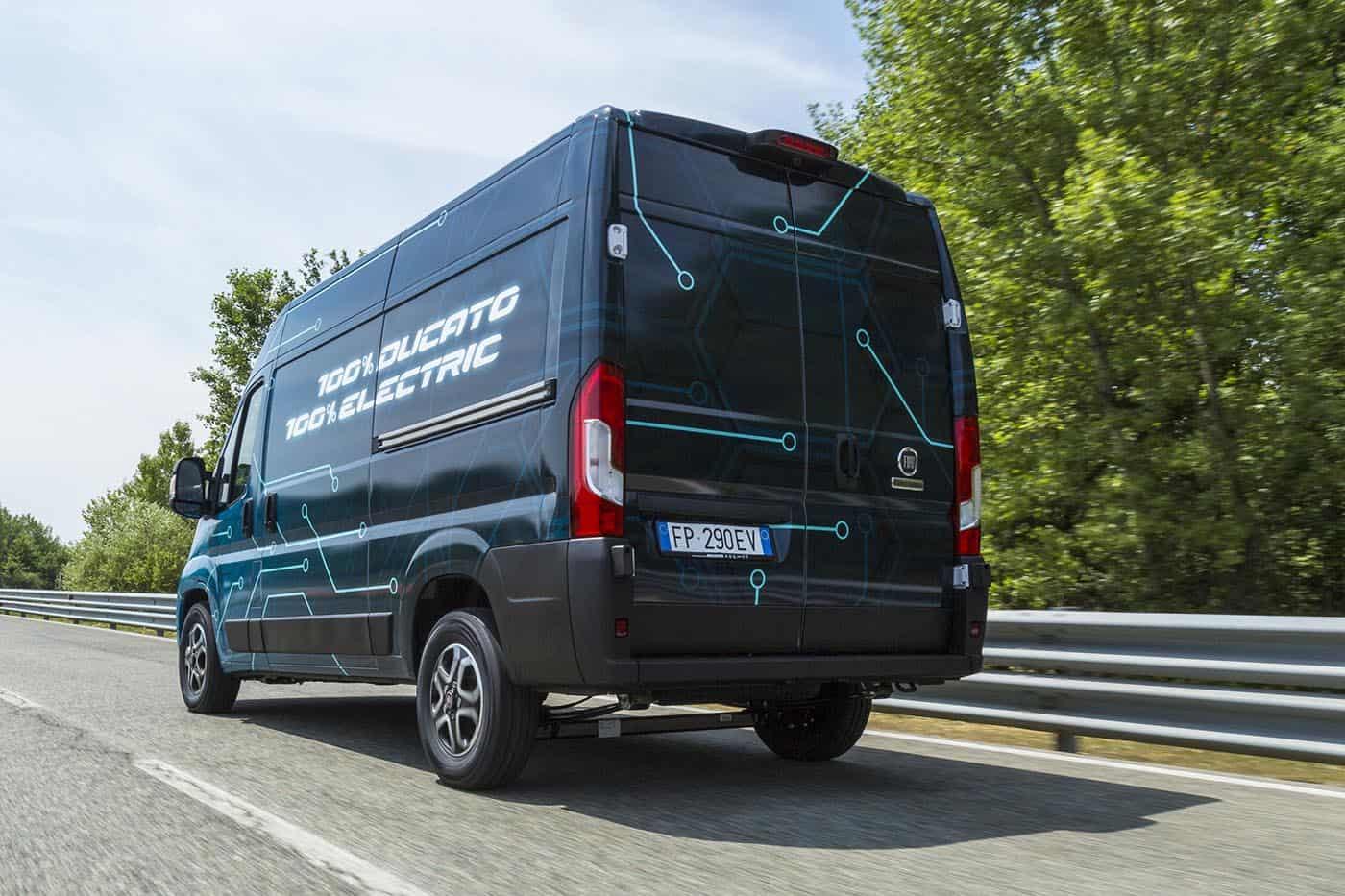 Fiat Professional a făcut publice primele informații despre viitorul Ducato Electric