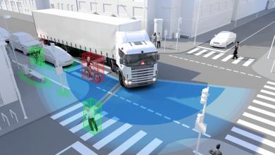 Kuehne + Nagel echipează flota de vehicule cu un asistent pentru virajul la dreapta