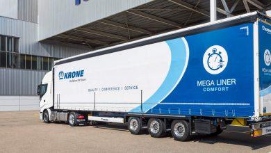 Krone prezintă noua semiremorcă Mega Liner în versiunea Comfort