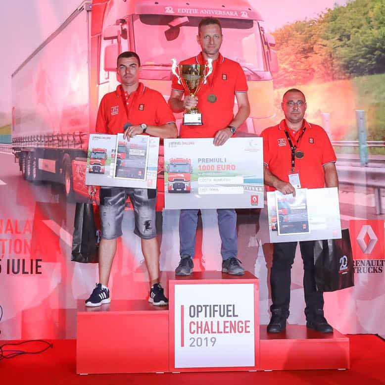 Costin Anghelescu de la Costi Trans a câștigat Optifuel Challenge România 2019