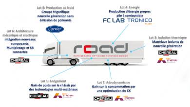 Semiremorca frigorifică Chereau ROAD a intrat în faza finală de testare