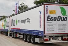 Transport eficient și ecologic cu noul sistem EcoDuo de la Schmitz Cargobull