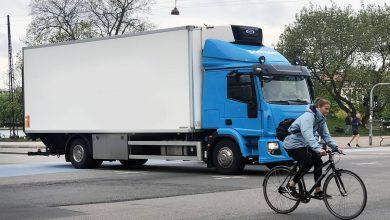 Pentru a mai circula prin München, camioanele trebuie echipate cu sistem de asistență la virare