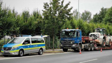 """Trei șoferi de camion """"arși"""" de un cadet al poliției germane"""