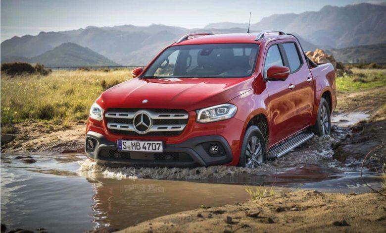Pick-up-ul Mercedes-Benz Clasa X este disponibil în România în două versiuni speciale