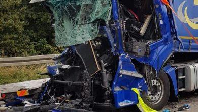 Grav accident provocat de un șofer polonez, pe autostrada A2, lângă Schermen