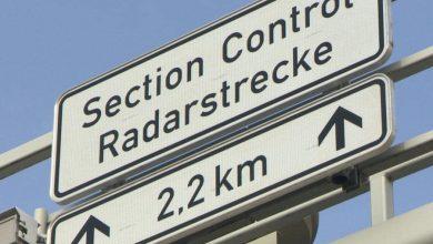 Camerele radar în cascadă de pe B6 din Germania sunt din nou operaționale