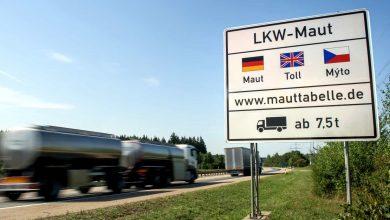 Camioanele au efectuat mai mulți kilometri pe drumurile cu taxă din Germania
