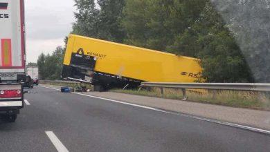 Un camion al echipei Renault F1 implicat într-un accident rutier în Ungaria